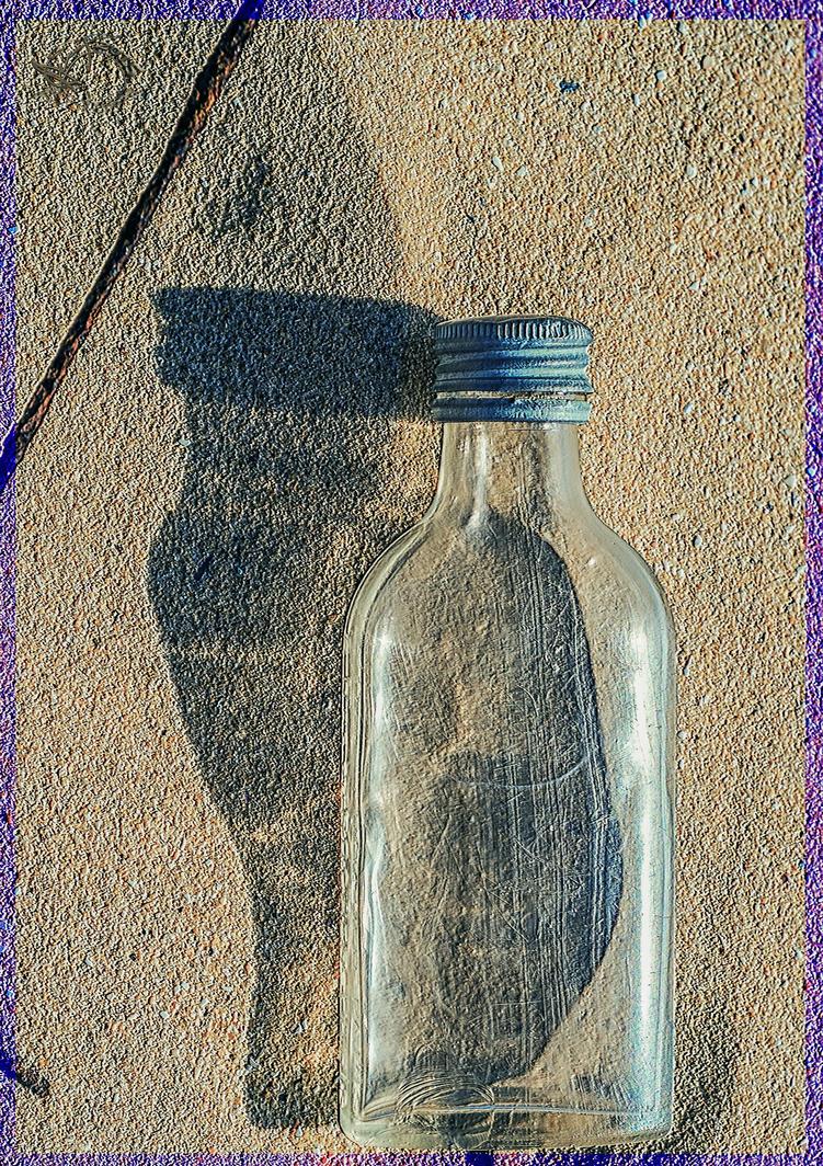 Beach Bottle by bulgphoto