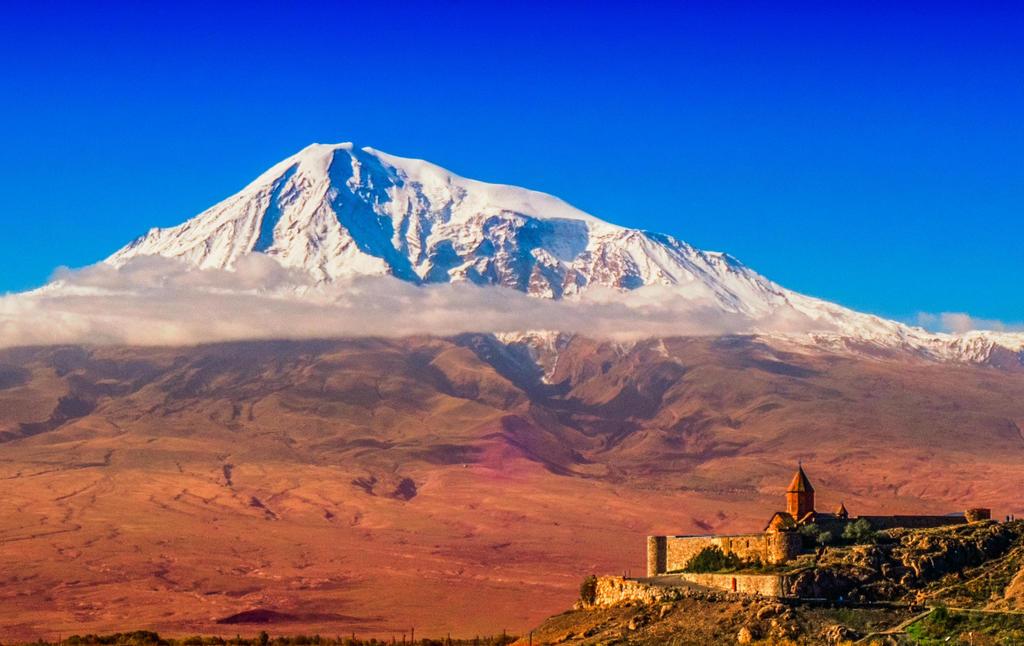 Khor Virap-Mount Ararat by bulgphoto
