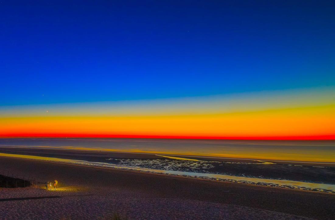Cap Ferret Sunset by bulgphoto