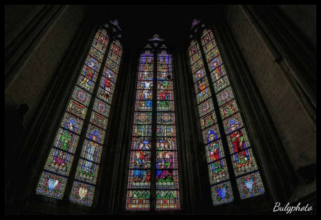 Church window by bulgphoto