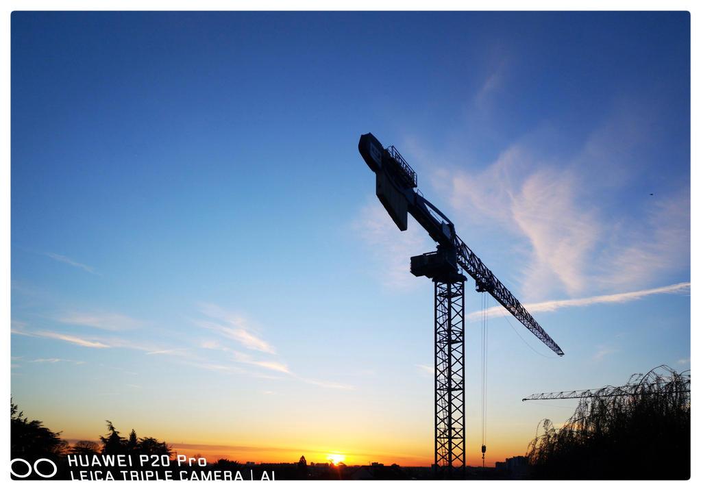 Sunrise construction by bulgphoto