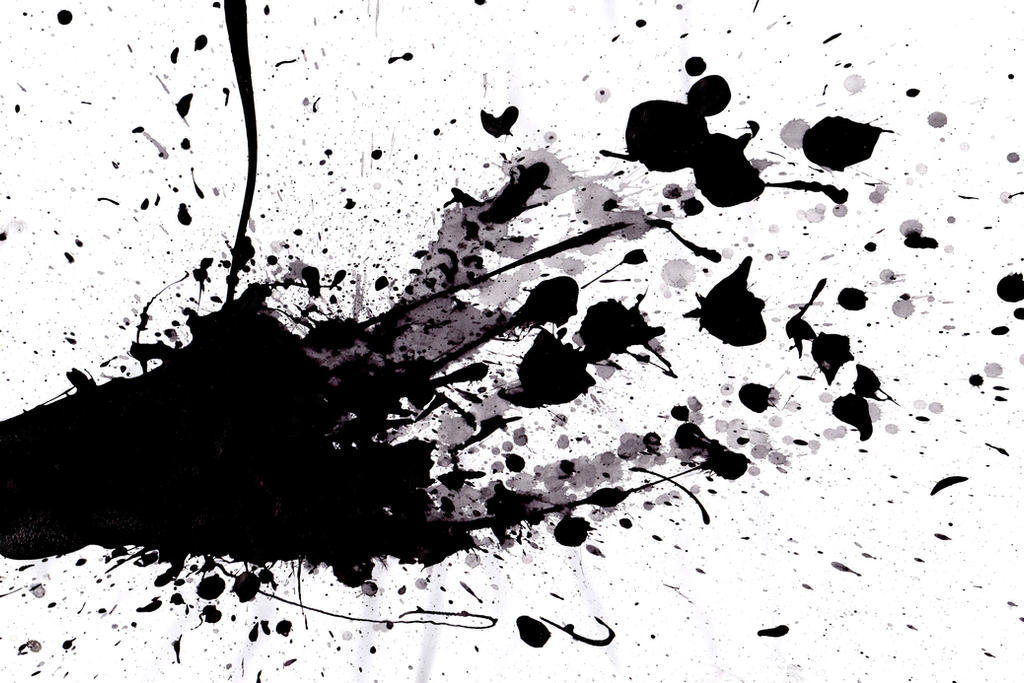 black paint splatter by squidge16 on deviantart