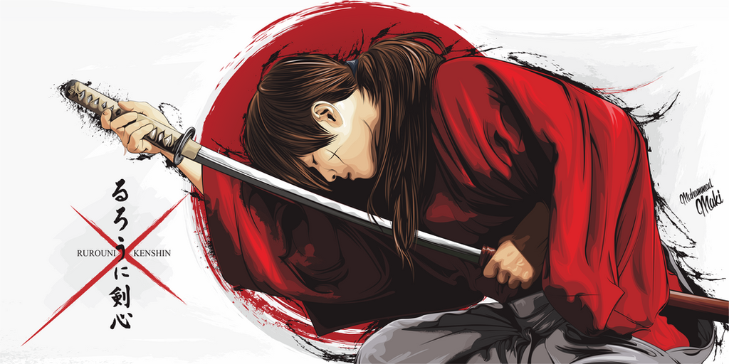 Wallpaper rurouni kenshin hd by makiibao on deviantart wallpaper rurouni kenshin hd by makiibao voltagebd Images