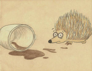 Caffeinated Hedgehog