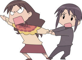 Azumanga Daioh by FireMistress