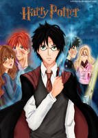 Harry Potter Anime Style by InfiniteCity