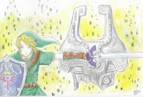 Twilight Princess Link by TriaElf9