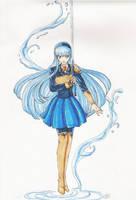 Umi Magic Knight Rayearth by TriaElf9
