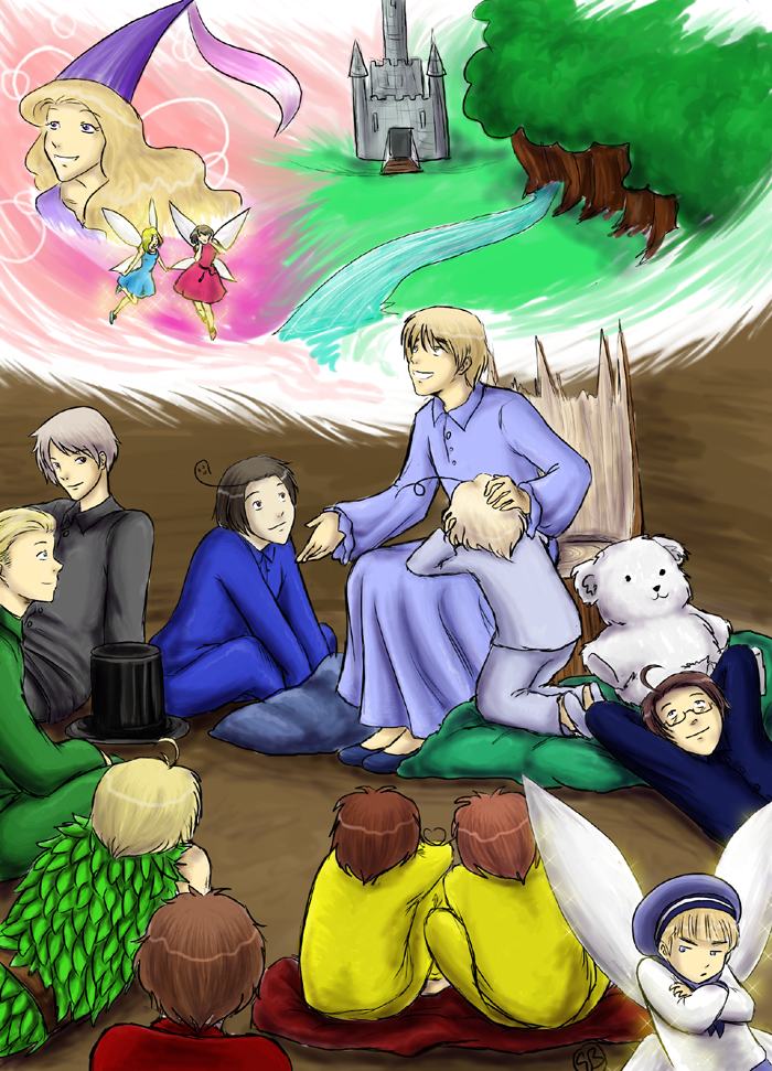 Storytime - Hetalia by TriaElf9