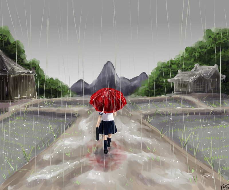 Rainy Season By Triaelf9 On Deviantart