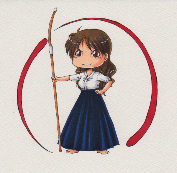 Naginata design by TriaElf9