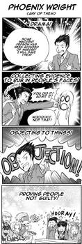 Phoenix Wright: A Summary by TriaElf9