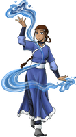 Waterbender Katara by TriaElf9