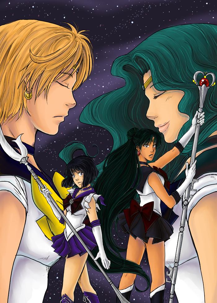 Outer Senshi by TriaElf9