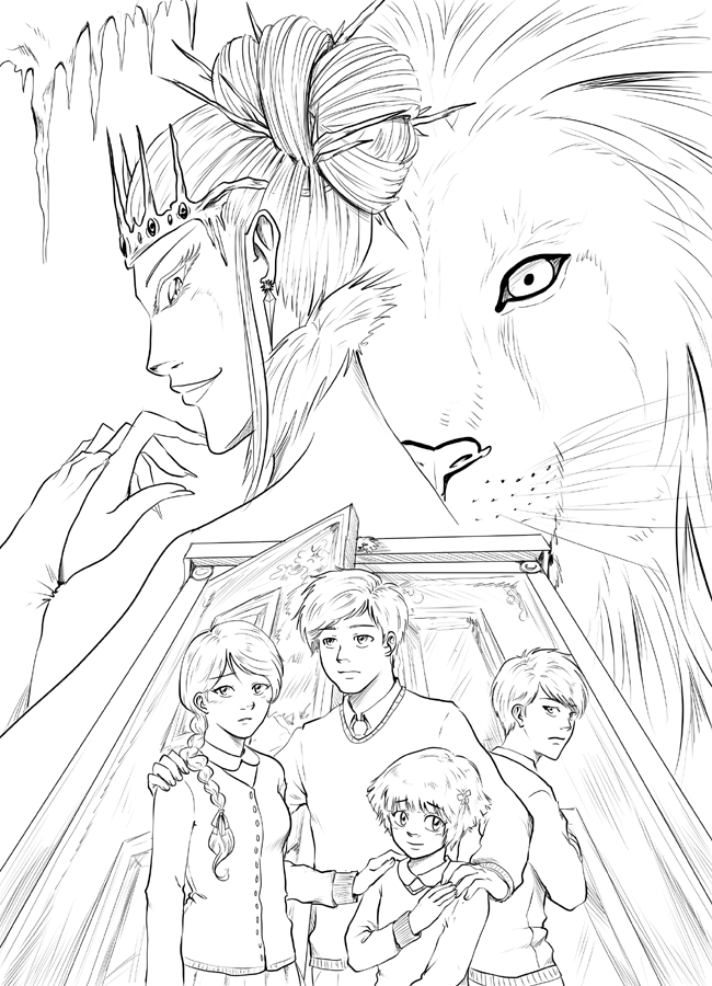 The Lion The Witch And The Wardrobe Inked By Triaelf9 On