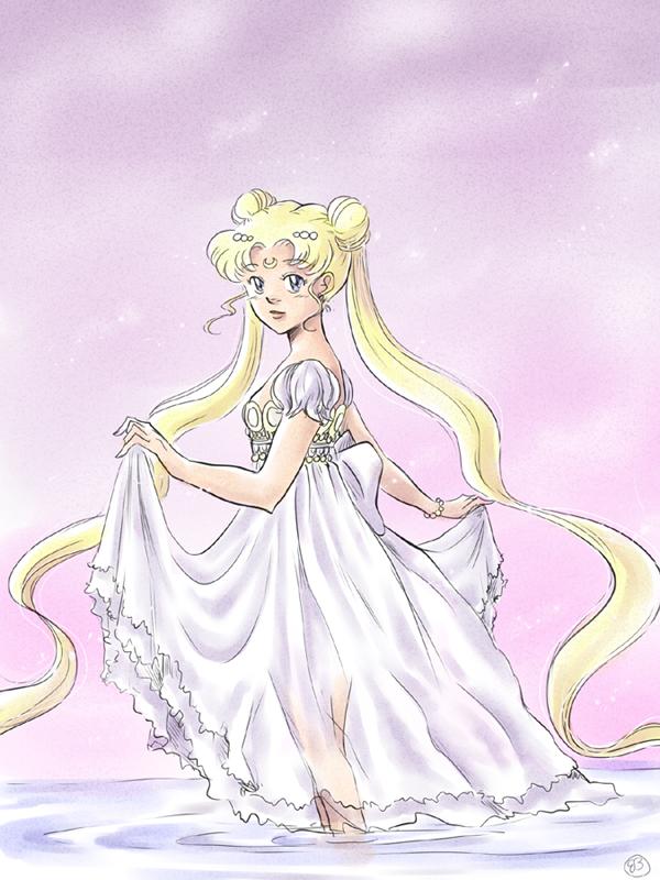 Princess Serenity by TriaElf9