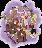 The Lost Boys by TriaElf9