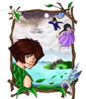 Peter Pan Volume 1 cover art by TriaElf9