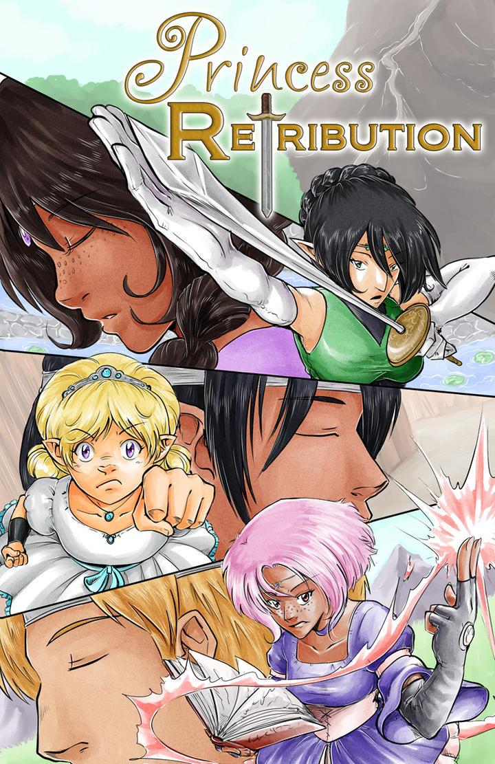 Princess Retribution Cover by TriaElf9