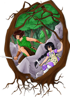 Island Adventures by TriaElf9