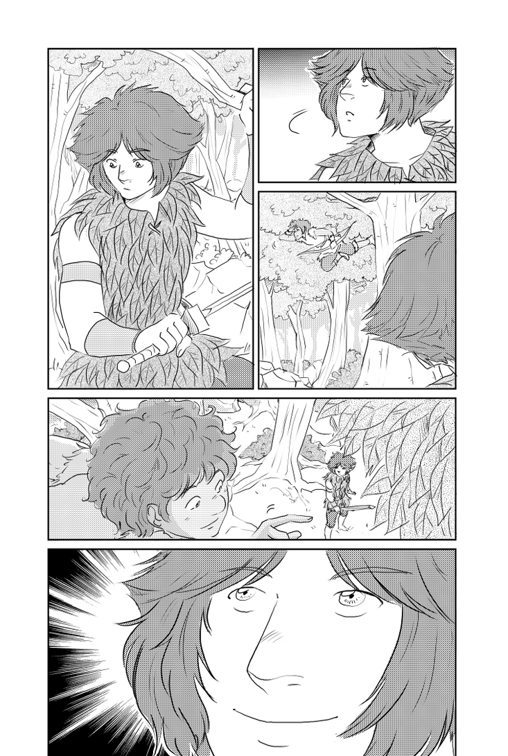 Peter Pan Page 369 by TriaElf9