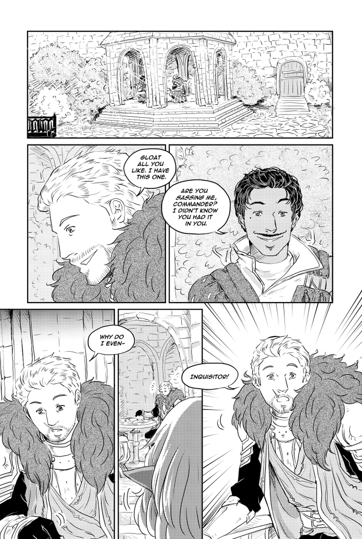 DAI - A Game of Chess page 1 by TriaElf9
