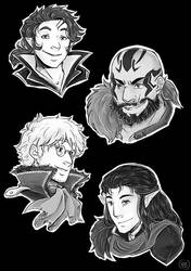Critical Role Guys by TriaElf9