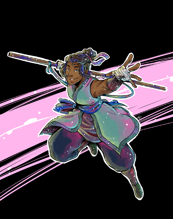 Beau in Action by TriaElf9