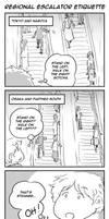 ToaG: Regional Escalator Etiquette