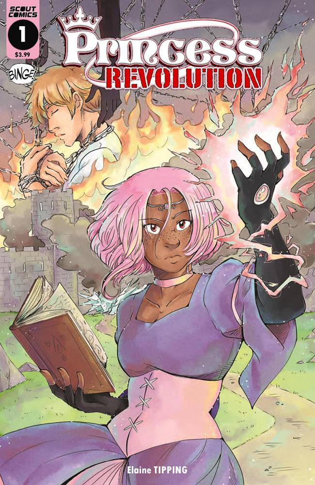 Princess Revolution 1 cover small by TriaElf9