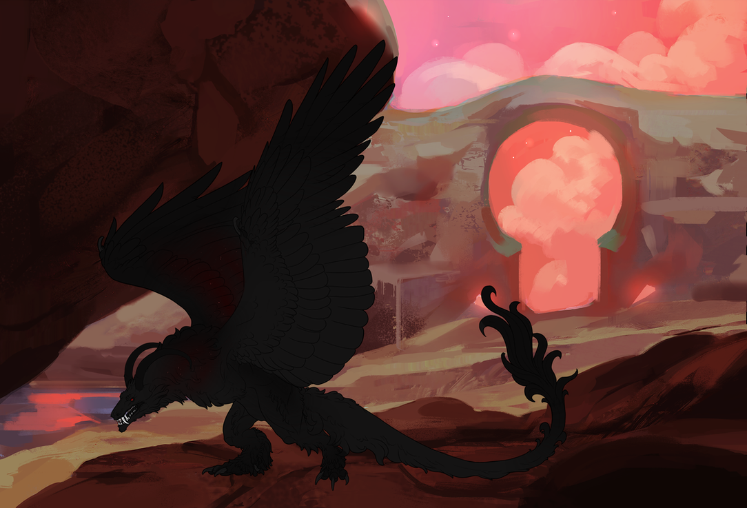 Bahamut 002 by The-Below