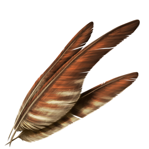 Large Feathers - 30 Crystals by The-Below
