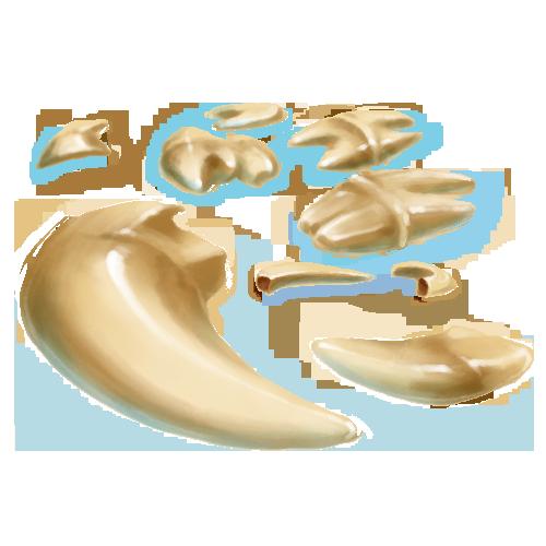 Teeth - 5 Crystals by The-Below