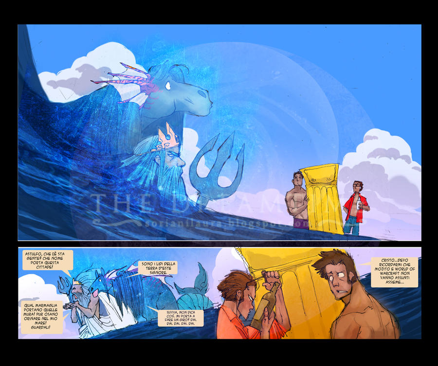 Neptune's rise - comic by XVIISideris