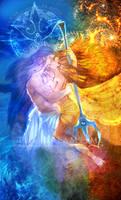 Poseidon and Demeter by XVIISideris