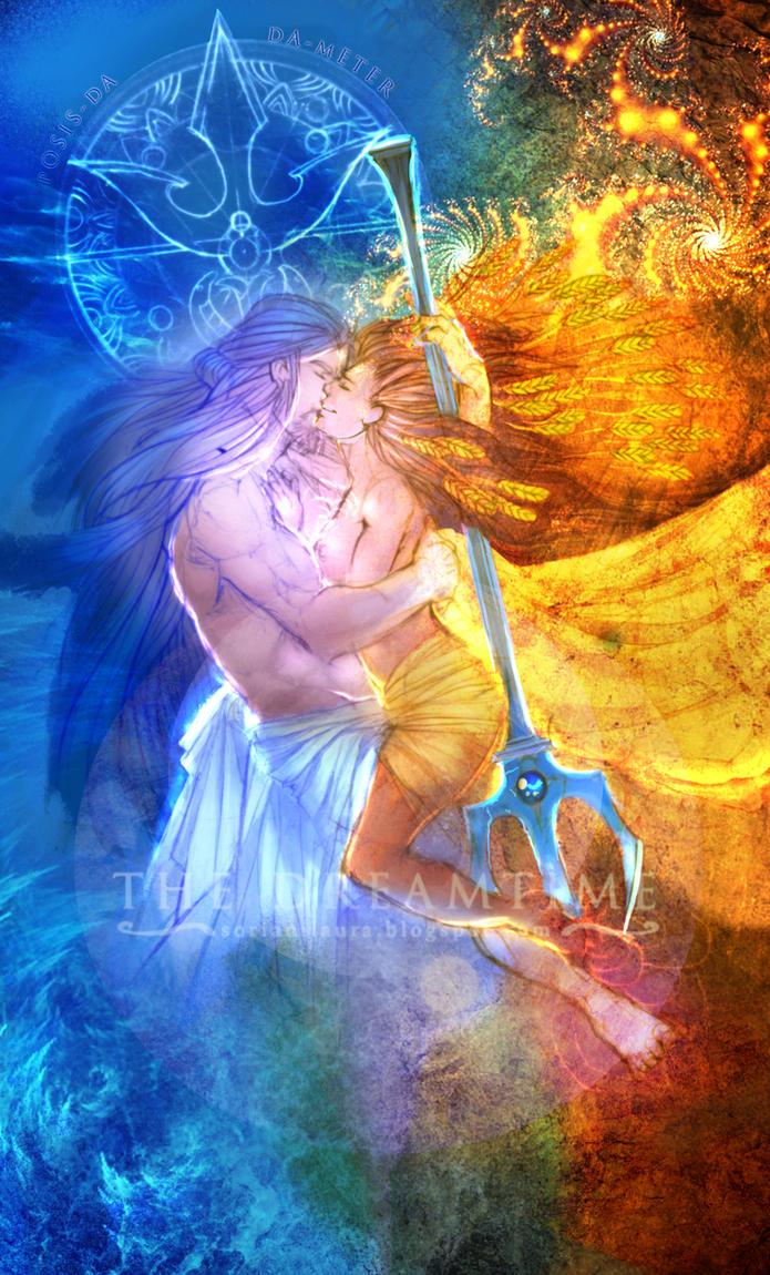 Poseidon and Demeter by XVIISideris on DeviantArt