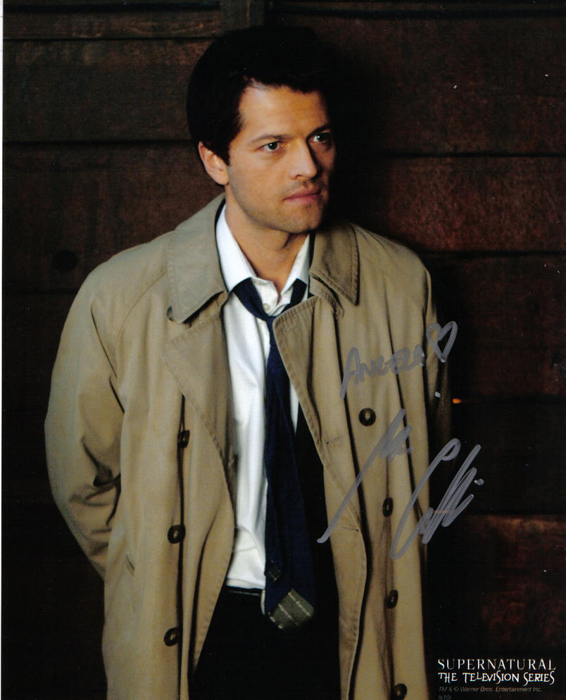 Misha Collins autograph by Meadowknight