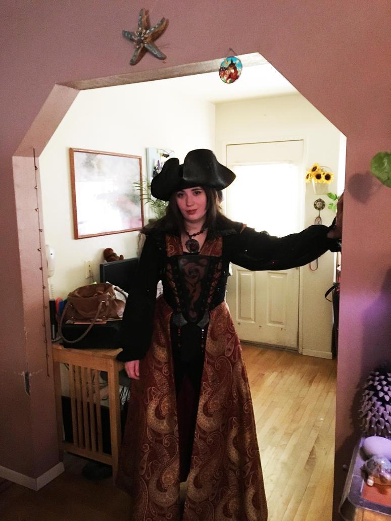 Pirate costume! Photo taken 6,25,2016 by Meadowknight