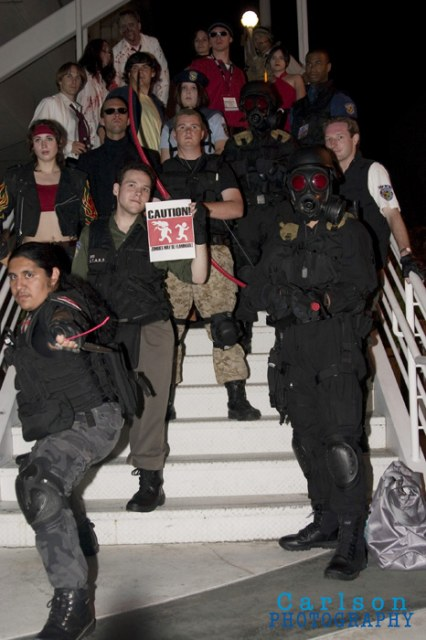 Survival Horror cosplay group by Meadowknight
