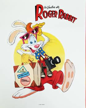 Rare Roger Rabbit Disney Parks Advert