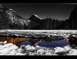 Half Dome Reflect by o0oLUXo0o