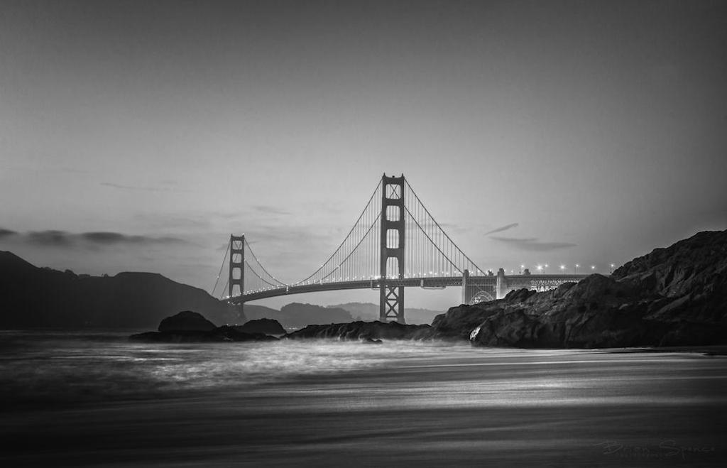 Black and White Gate by o0oLUXo0o