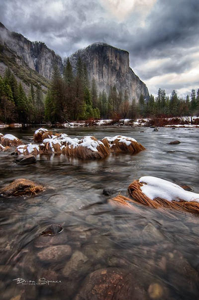 Valley View Yosemite by o0oLUXo0o