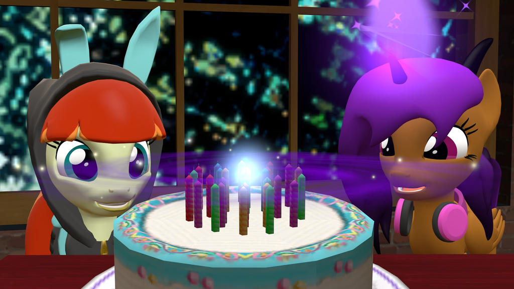 Happy Birthday Sourcy! by Fullmoonrose7