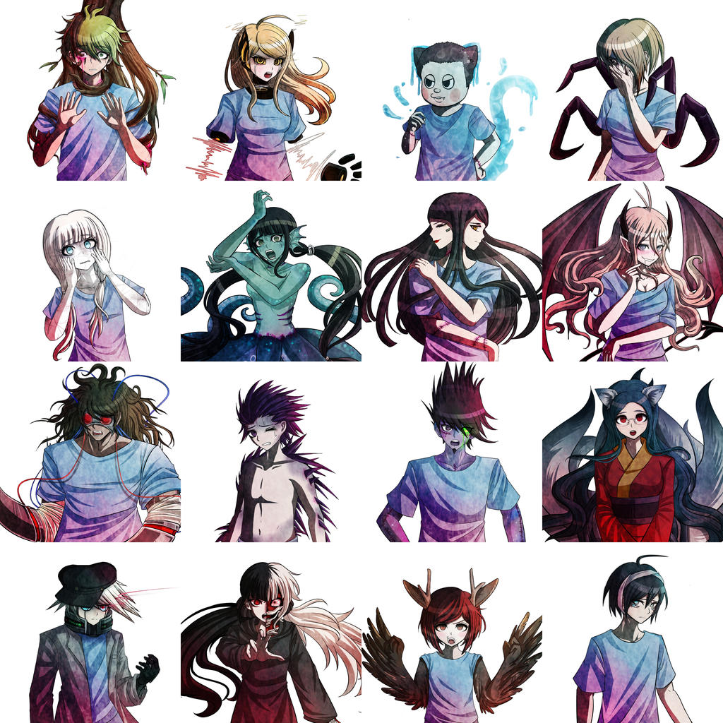 Dangan Ronpa Lab Au V3 Kids Experiments By Fullmoonrose7 On Deviantart (ryoma hoshi x female reader lemon). dangan ronpa lab au v3 kids