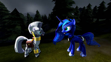 Luna and Zecora