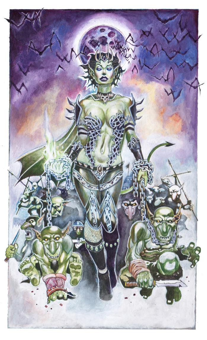 Goblin Queen by Tiwali by TheSteampunker
