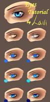 Coloring Eyes Tutorial