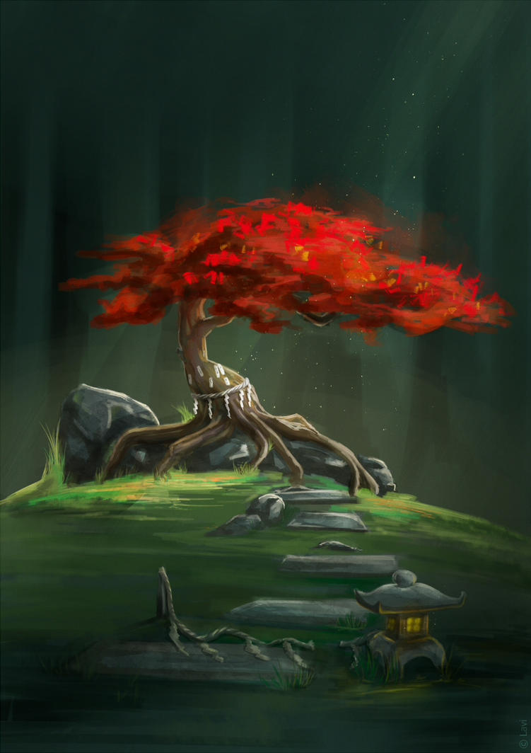 Wisdom Tree by Lavi-Li