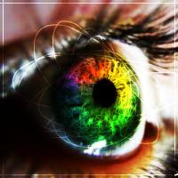 Colorful Eye by FlareShadow731